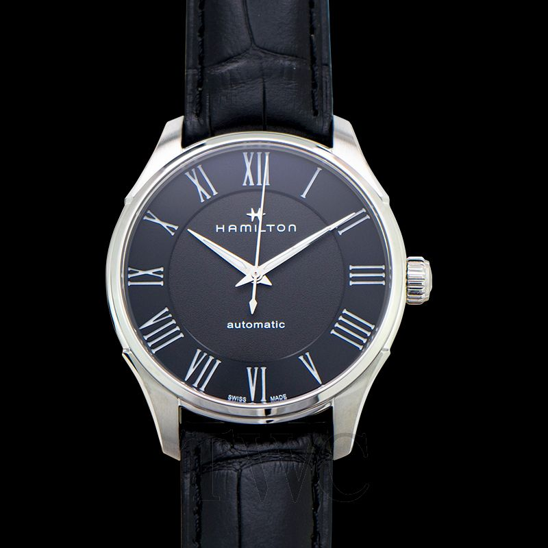 Jazzmaster Automatic Black Dial Stainless Steel