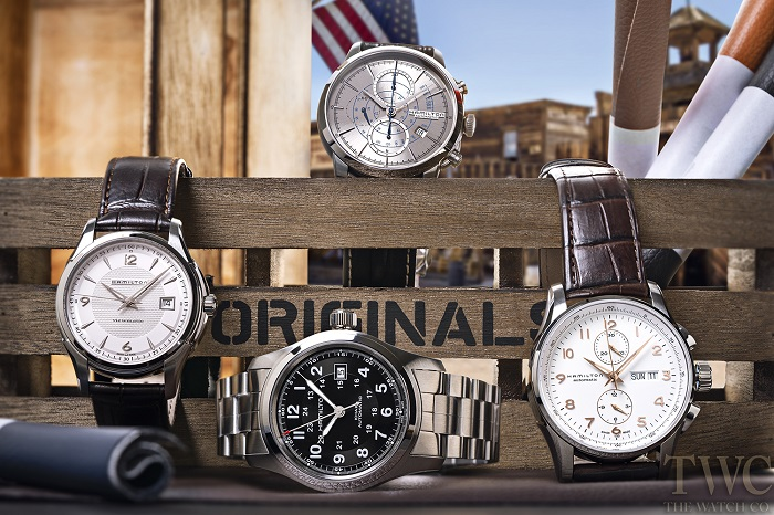 ハミルトンの4本の腕時計