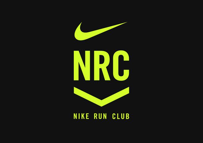 ナイキのランニングアプリNRCのロゴ