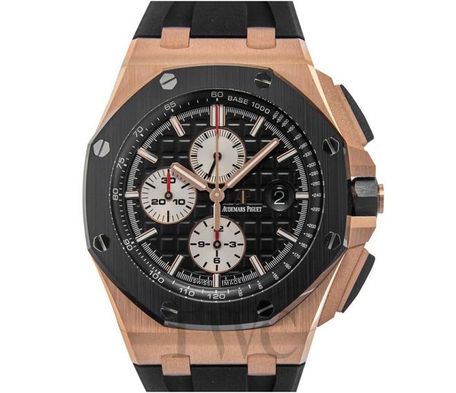 500万円するオーデマピゲの高級腕時計オフショア