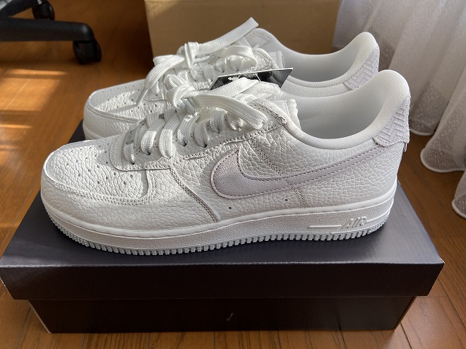 NIKE AIR FORCE1 SUMMIT WHITEPHOTON DUST