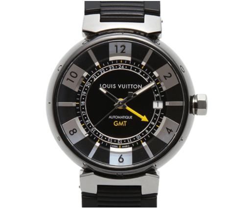 ルイヴィトンタンブール インブラック GMT