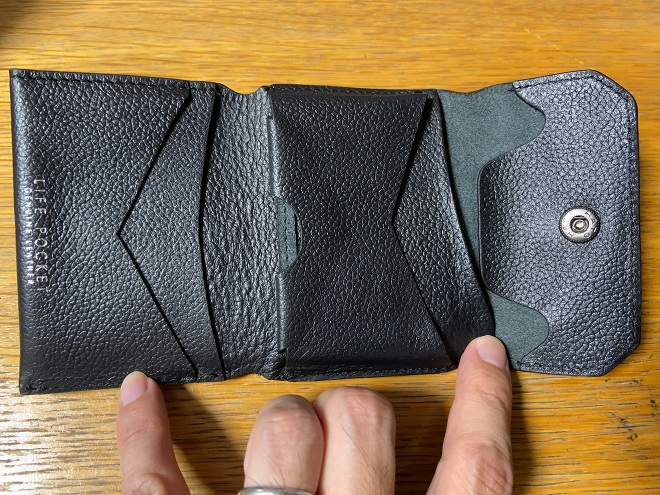 ライフポケット財布を広げた画像