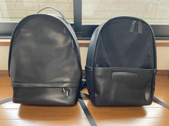TSOGのTHE ONE(左)とMUKO(右)を並べて撮影した画像