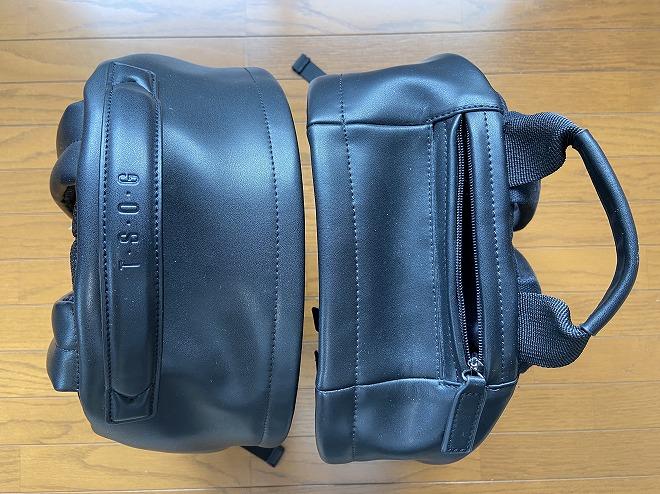 TSOGのTHE ONE(左)とMUKO(右)の取って面を上にして撮影した画像